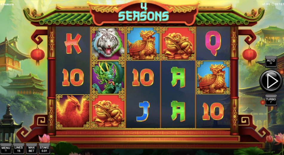 4 seasons слот