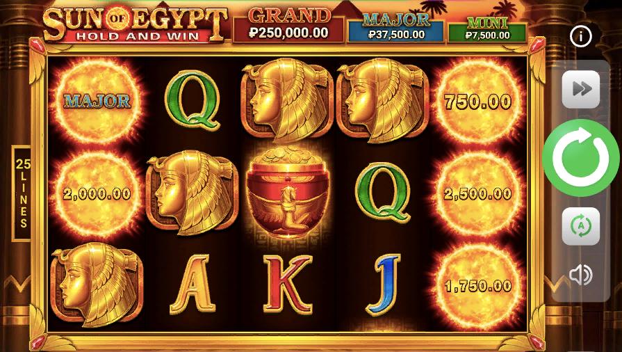 sun of egypt - популярный среди опытных игроков слот